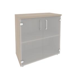 Шкаф для документов низкий широкий Onix O.ST-3.2 Дуб Аризона 800x420x823, Цвет товара: Дуб Аризона, изображение 2