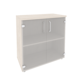 Шкаф для документов низкий широкий Onix O.ST-3.2 Дуб Аризона 800x420x823, Цвет товара: Дуб Аризона, изображение 3