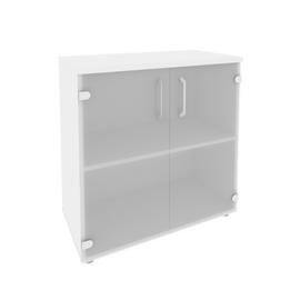 Шкаф для документов низкий широкий Onix O.ST-3.2 Дуб Аризона 800x420x823, Цвет товара: Дуб Аризона, изображение 4