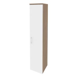 Шкаф для документов высокий узкий правый Onix O.SU-1.9(R) Дуб Аризона 400x420x1977, Цвет товара: Дуб Аризона, изображение 5