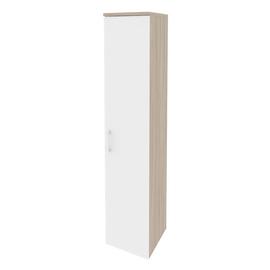 Шкаф для документов высокий узкий правый Onix O.SU-1.9(R) Дуб Аризона 400x420x1977, Цвет товара: Дуб Аризона, изображение 6
