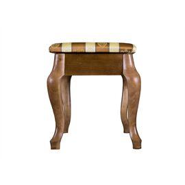 Банкетка Ретро Mebelik Средне-коричневый 520х340х390, Цвет товара: Средне-коричневый, изображение 5