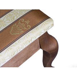 Банкетка Ретро Mebelik Средне-коричневый 520х340х390, Цвет товара: Средне-коричневый, изображение 4