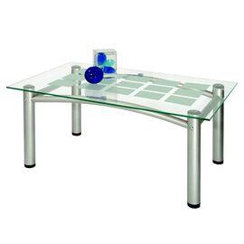 Стол журнальный Робер 3М Mebelik Металлик 900х550х430, Цвет товара: металлик, изображение 2