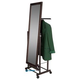 Вешалка костюмная с зеркалом В 24Н Mebelik Венге 480х350х1370, Цвет товара: Венге, изображение 3