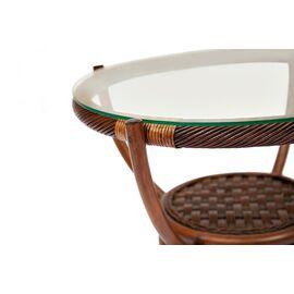Кофейный столик Андреа (Andrea) Натуральный ротанг (Пекан) TetChair, Цвет товара: Античный орех, изображение 3