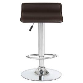 Барный стул LM-3013 коричневый DOBRIN, Цвет товара: Коричневый, изображение 2