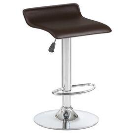 Барный стул LM-3013 коричневый DOBRIN, Цвет товара: Коричневый, изображение 4