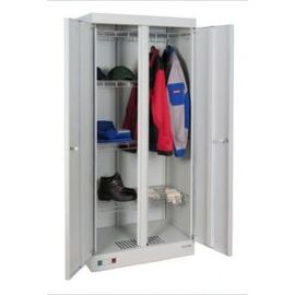 Металлический сушильный шкаф для одежды и обуви ШСО- 2000, Цвет товара: Серый, изображение 3