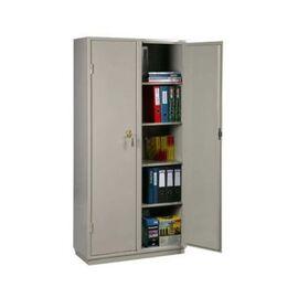 Металлический бухгалтерский шкаф КБ - 10 / КБС - 10, Цвет товара: Серый, изображение 2