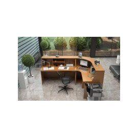 Ресепшен угловой со столом Ресепшн Эдем арт. E-27.3 900х900х1170, изображение 4