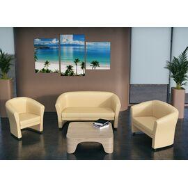 Кресло Chairman Крон ( ШхГхВ 740х700х820 ), Цвет товара: Черный, изображение 3