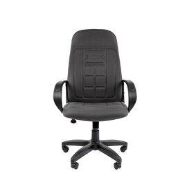 Компьютерное кресло для руководителя Chairman 727 CT Серый, Цвет товара: Серый, изображение 4