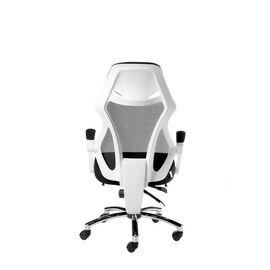 Кресло офисное Norden 007 / (black (white plastic) белый пластик / черная ткань / черная сетка, Цвет товара: Белый, изображение 6