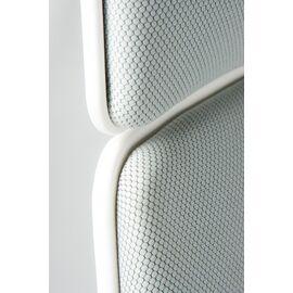 Кресло офисное Norden IQ / (white+grey) белый пластик / серая ткань, Цвет товара: Серый, изображение 4