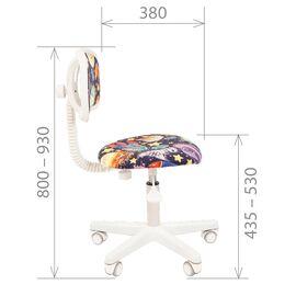 Компьютерное кресло для детской комнаты Chairman Kids 101 (Принцесса), Цвет товара: Принцессы, изображение 6