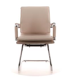 Офисное кресло Everprof Nerey CF Экокожа Бежевый, Цвет товара: Бежевый, изображение 2