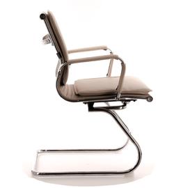 Офисное кресло Everprof Nerey CF Экокожа Бежевый, Цвет товара: Бежевый, изображение 3