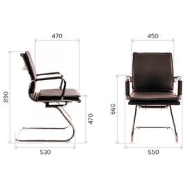 Офисное кресло Everprof Nerey CF Экокожа Бежевый, Цвет товара: Бежевый, изображение 4