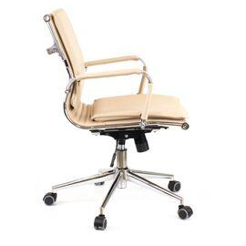 Компьютерное кресло Everprof Nerey LB T Бежевая экокожа, Цвет товара: Бежевый, изображение 2