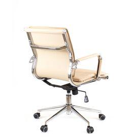 Компьютерное кресло Everprof Nerey LB T Бежевая экокожа, Цвет товара: Бежевый, изображение 3