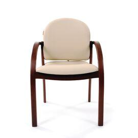 Офисное кресло для посетителей Chairman CH 659 Терра 101 беж матовый/темный орех, изображение 4