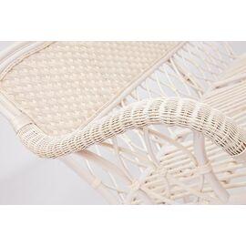 """Комплект для отдыха """"ANDREA"""" (диван + 2 кресла + журн. столик со стеклом + подушки) TetChair, Цвет товара: Белый, изображение 11"""