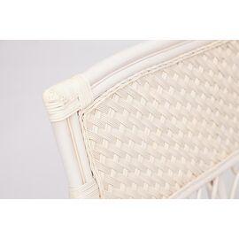 """Комплект для отдыха """"ANDREA"""" (диван + 2 кресла + журн. столик со стеклом + подушки) TetChair, Цвет товара: Белый, изображение 2"""