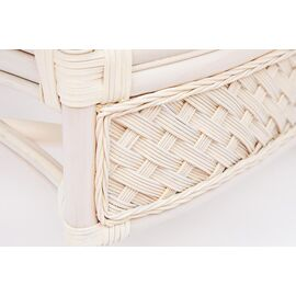 """Комплект для отдыха """"ANDREA"""" (диван + 2 кресла + журн. столик со стеклом + подушки) TetChair, Цвет товара: Белый, изображение 3"""
