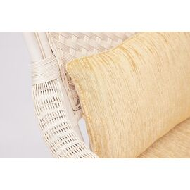 """Комплект для отдыха """"ANDREA"""" (диван + 2 кресла + журн. столик со стеклом + подушки) TetChair, Цвет товара: Белый, изображение 6"""