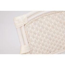 """Комплект для отдыха """"ANDREA"""" (диван + 2 кресла + журн. столик со стеклом + подушки) TetChair, Цвет товара: Белый, изображение 7"""