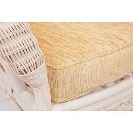 """Комплект для отдыха """"ANDREA"""" (диван + 2 кресла + журн. столик со стеклом + подушки) TetChair, Цвет товара: Белый, изображение 9"""