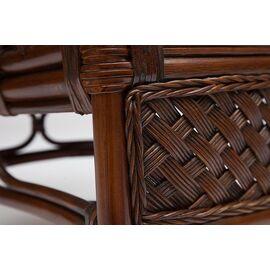 """Комплект для отдыха """"ANDREA"""" (диван + 2 кресла + журн. столик со стеклом + подушки) TetChair, Цвет товара: Античный орех, изображение 2"""