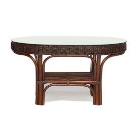 """Комплект для отдыха """"ANDREA"""" (диван + 2 кресла + журн. столик со стеклом + подушки) TetChair, Цвет товара: Античный орех, изображение 3"""