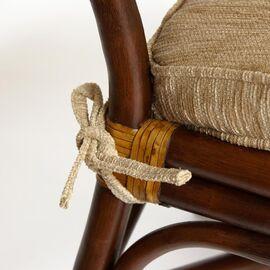 Комплект террасный ANDREA (с подушкой) Античный орех TetChair, Цвет товара: Античный орех, изображение 4