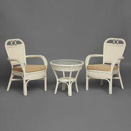 Комплект террасный ANDREA (с подушкой) Белый TetChair, Цвет товара: Белый, изображение 7