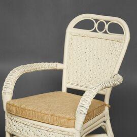 Комплект террасный ANDREA (с подушкой) Белый TetChair, Цвет товара: Белый, изображение 8