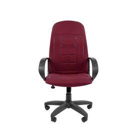 Компьютерное кресло для руководителя Chairman 727 CT Бордовый, Цвет товара: бордовый, изображение 4