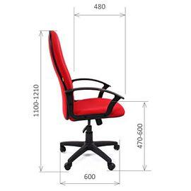 Компьютерное кресло для руководителя Chairman 289 NEW Зеленый, Цвет товара: Зеленый, изображение 3