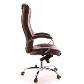 Компьютерное кресло для руководителя Everprof King M кожа коричневый, Цвет товара: Коричневый, изображение 3