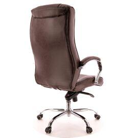 Компьютерное кресло для руководителя Everprof King M кожа коричневый, Цвет товара: Коричневый, изображение 4