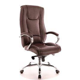 Компьютерное кресло для руководителя Everprof King M кожа коричневый, Цвет товара: Коричневый, изображение 2