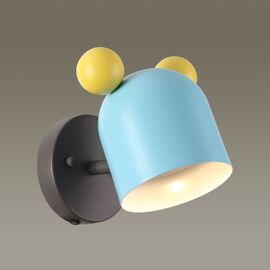 Бра Mickey голубой Odeon Light, Цвет товара: Голубой, изображение 3