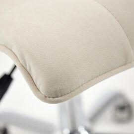 Компьютерное кресло «Zero» флок , молочный, 4 TetChair, Цвет товара: молочный, изображение 7