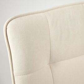 Компьютерное кресло «Zero» флок , молочный, 4 TetChair, Цвет товара: молочный, изображение 6