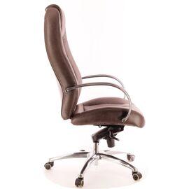 Компьютерное кресло для руководителя Everprof Drift Full AL M кожа коричневый, Цвет товара: Коричневый, изображение 3