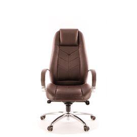Компьютерное кресло для руководителя Everprof Drift Full AL M кожа коричневый, Цвет товара: Коричневый, изображение 4