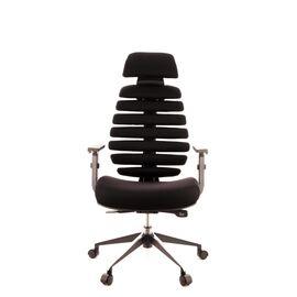 Компьютерное кресло для руководителя Everprof Ergo Black ткань черный, изображение 4
