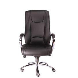 Компьютерное кресло для руководителя Everprof King M кожа черный, Цвет товара: Черный, изображение 3