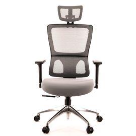 Компьютерное кресло для руководителя Everprof Everest S сетка серый, Цвет товара: Серый, изображение 3